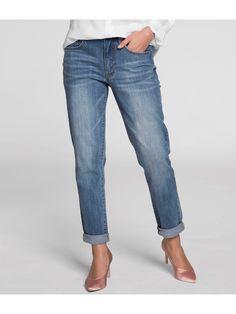 Lauren straight jeans - Czarny - Woman - KappAhl
