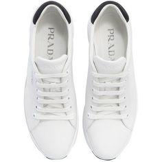 186c62ad54b Prada Women 55mm Leather Platform Sneakers (32