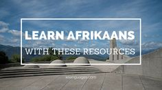 Who wants to learn Afrikaans? Here is a list of various books, websites, music, movies, and videos to help you learn one of the languages of South Africa. Languages Of South Africa, Afrikaans, Learning, Videos, Board, Music, Movies, Musica, Musik