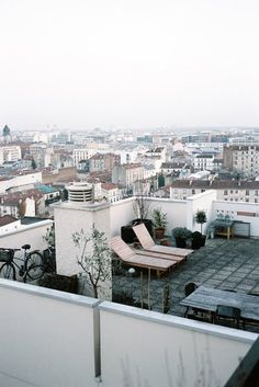 rooftop terrace, Bagnolet #architecture #Paris