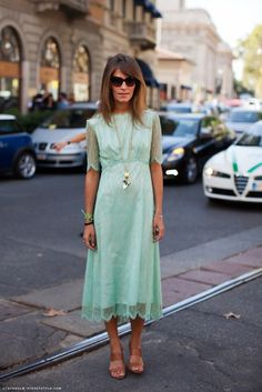 I like the cut and sleeves of this dress. But shorter and more fitted waist.