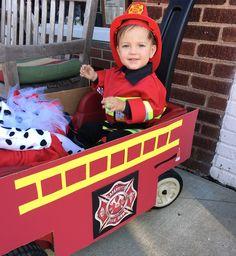 #halloween #costumeideas #babyboy #fireman #firetruck #diy