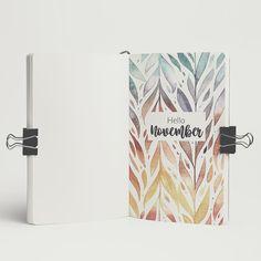 "70 Me gusta, 3 comentarios - Paula Vicedo (@paulavicedo) en Instagram: ""Hasta hoy me puedo sentar a organizar mi noviembre... pero mejor tarde que nunca! . . . . . . .…"" Bullet Journal Inspo, Bullet Journal Cover Page, Journal Layout, Book Journal, Journal Themes, Bullet Journal Monthly Spread, Art Graphique, Journal Inspiration, Bujo"