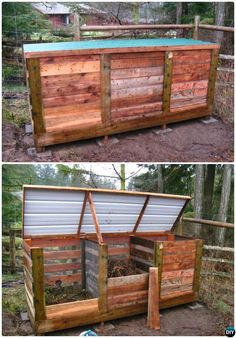 DIY Pallet Compost Bin Instruction-12 Simple DIY Compost Bin Projects