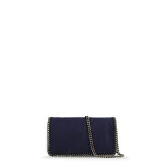 Stella McCartney - Navy Falabella Cross Body Bag - Shop at the official Online Store