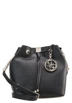 c3c3243f4f CHRISTY - guess hand bag Pencil Skirt Black, Pearl Stud Earrings, Bucket Bag ,