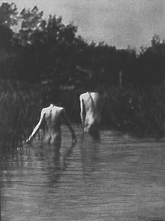 Peter Henry Emerson Great Chain Of Being, Love Conquers All, Emerson, Norfolk, Art Forms, Black And White, World, Nature, White Photography