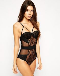 ASOS Millie Caged Bodysuit - $42.56