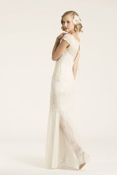 Amy Kuschel Charlston | Art Deco Gown Inspiration | Sewly Yours Bridal | Vermont Bride Magazine