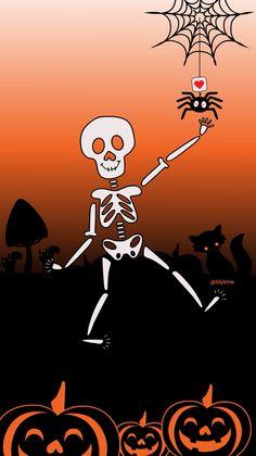 Je me suis amusées à créer des gifs pour les stories d'instagram sur le thème d'halloween : squelette, araignée, citrouilles, feuilles mortes. Ce sont des gifs que vous pouvez retrouver en tapant lmw dans la barre des recherches gifs de vos stories. Animation ----- I had fun creating gifs for Halloween-themed instagram stories: skeleton, spider, pumpkins, dead leaves. All that moves in this video is a gif that you can find by typing lmw in the search bar gifs of your stories.