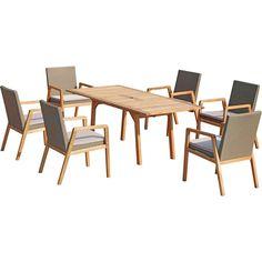 AMBIA GARDEN GARTENSET Akazie Kunststoffgeflecht Aluminium, Braun Jetzt bestellen unter: https://moebel.ladendirekt.de/garten/gartenmoebel/gartenmoebel-set/?uid=d2865721-9b61-5dc8-a81e-e6cd8cbf637a&utm_source=pinterest&utm_medium=pin&utm_campaign=boards #garten #gartenmoebel #gartenmoebelset