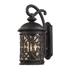 Elk Lighting Tuscany Coast 2 Light Lantern Sconce