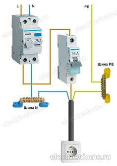 Ac Wiring, Home Electrical Wiring, Electrical Projects, Electrical Installation, Electrical Outlets, Electrical Engineering, Chemical Engineering, Family House Plans, Tiny House Plans