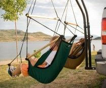 Trailer Hitch Hammock Chair ... how cool are these??