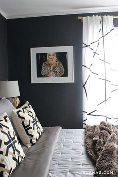13 Rooms that Prove Black is Back   Rue