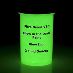 Ultra Green V10 Glow in the Dark Paint 2Oz Glow Inc.,http://www.amazon.com/dp/B00BNEXBHQ/ref=cm_sw_r_pi_dp_XbKCtb0EHQ09WX50