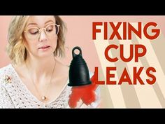 If we could wave a magic wand and cure all of the world's menstrual cup leaks we would. The next best thing we can do is offer our best tips for diagnosing a. Aunt Flo, Menstrual Cup, The Cure, Tips, Youtube, Feminine Products, Daily Wisdom, Zero Waste, Health
