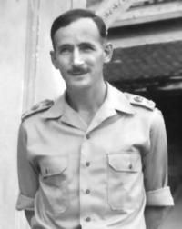 """Sir Edward """"Weary"""" Dunlop. Surgeon in the Australian Army, known for his care and compassion of prisoners of war on the Thai-Burma Railway during World War II."""