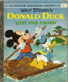 DONALD DUCK LOST AND FOUND - Little Golden Book