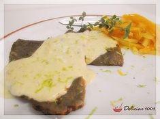 Molho de limão siciliano para carnes