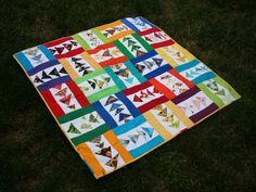 I Spy Flying Geese by Swim, Bike, Quilt