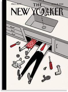 "Christoph Niemann's ""Father's Day Off"" 
