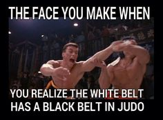 totally me! Just started jiu Jitsu after 10 years of judo and crushed a much better jiujitsuka on the ground Martial Arts Humor, Martial Arts Quotes, Martial Arts Workout, Boxing Workout, Workout Gear, Workouts, Judo, Artiste Martial, Martial Artist