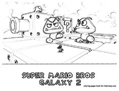 fireball mario coloring pages - photo#25