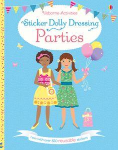 #StickerDollyDressing #Parties #activities #stickers #childrensbooks #usborne
