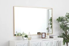 Three Posts Eternity Accent Mirror | Wayfair