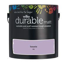 Wilko Durable Matt Emulsion Paint                 Sweetie 2.5L