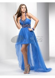 Sexy Prom Dresses-Fabulous and Chic Beaded Strap Keyhole Bodice Sexy Prom Dress Prom Dress 2013, High Low Prom Dresses, Dresses Short, Chiffon Evening Dresses, A Line Prom Dresses, Tulle Prom Dress, Cheap Prom Dresses, Prom Party Dresses, Formal Evening Dresses