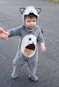 baby squirrel costume Baby Halloween Kostymer För Pojkar f308e0d836548