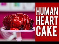 Schöne Idee zum Valentinstag, so von wegen ich schenke dir mein Herz. Oder eben für die, die ein gebrochenes Herz haben. Wie auch immer, auf jeden Fall eine grossartige Arbeit von How To Cake It.