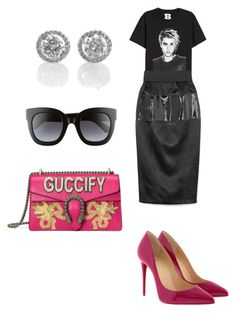 """Untitled #281"" by donia-tanase on Polyvore featuring Gucci and Christian Louboutin"