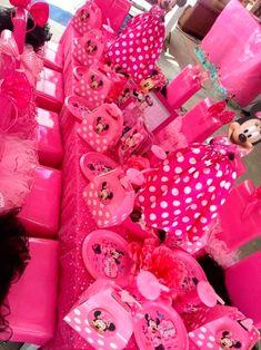 rosa para meninas que amam minnie