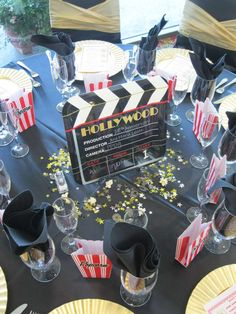 Old Hollywood Glamour Anniversary (Wedding) Party Ideas | Photo 1 of 36 | Catch My Party