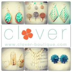 I love Clover! Have you checked it out? Super cute stuff!   www.clover-boutique.com