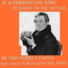 Anstatt auf verrückte Ideen zu kommen, trinke lieber einen Black Hat Coffee. 🎩☕️ Anstatt, Hole Punch, Singing, Hat, Black, Drinking Coffee, Proud Of You, Ideas, Chip Hat
