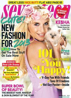 Ke$ha is on our February cover!