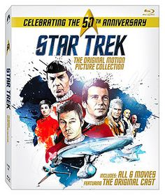 rogeriodemetrio.com: Star Trek: Original Motion Picture Colecção 50th A...