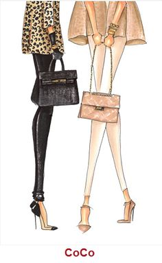 Coco and Hermes