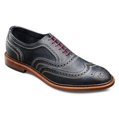 Neumok - unlined wingtip lace-up casual Mens Shoes by Allen Edmonds