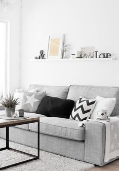 Luxury Furniture, Living Room Ideas, Home Furniture, Contemporary Furniture,Cont. - Ikea DIY - The best IKEA hacks all in one place Interior, Home, Living Dining Room, Living Room White, Home Furniture, Luxury Furniture, Nordic Living Room, Interior Design, Living Decor