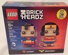 SDCC 2016 Exclusive Lego Brick Headz Superman & Wonder Woman