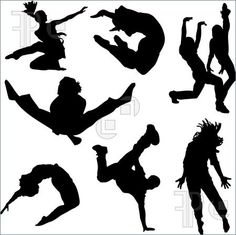 Dance Silhouette Clip Art - Bing Images