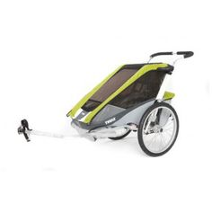 Cougar Chariot carrier for bike riding or jogging along with the kids