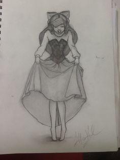 Cute ariel drawing
