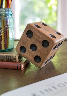 Grab two of these decor dice, and supersize your game play!