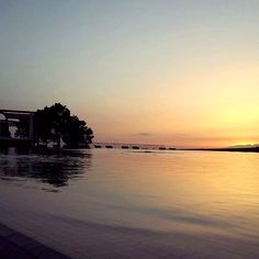 Thank you to @pixed_life for sharing this beautiful sunset from the infinity pool!